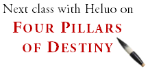 Heluo Hill - master class Four Pillars of Destiny Bazi
