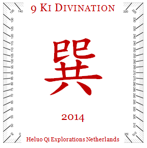 Heluo 9 Star Ki Divination - new year Luoshu predictions 2014