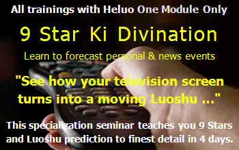 Heluo 9 Stars and Luoshu Trigrams prediction training