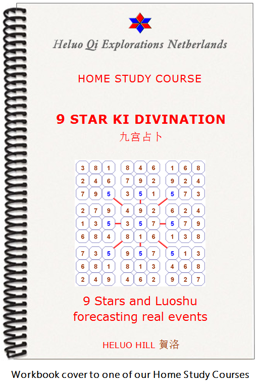9 Star Ki Divination Home Study Correspondence Course with Heluo