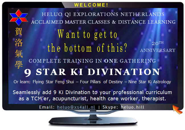 Heluo Hill professional study program Flying Star Feng Shui and Four Pillars of Destiny Bazi